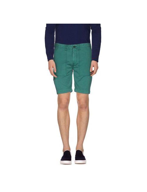 Pepe Jeans | Мужские Зелёные Бермуды