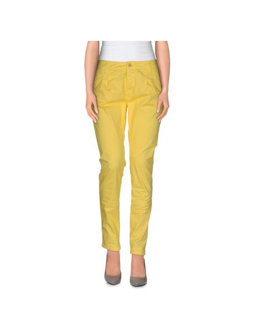 Up ★ Jeans | Женские Жёлтые Повседневные Брюки