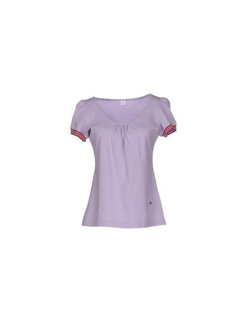 Fay | Женская Фиолетовая Футболка