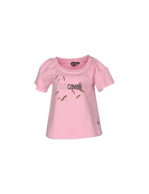 Just Cavalli   Женская Розовая Толстовка