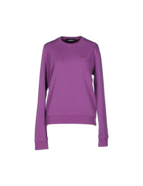 Dsquared2   Женская Фиолетовая Толстовка