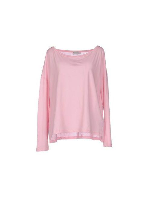 Moncler | Женская Розовая Футболка