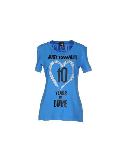 Just Cavalli | Женская Лазурная Футболка