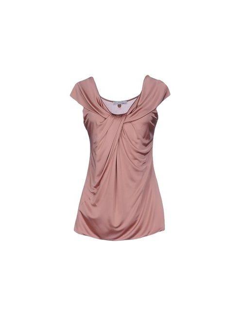 Versace Collection   Женский Розовый Топ Без Рукавов
