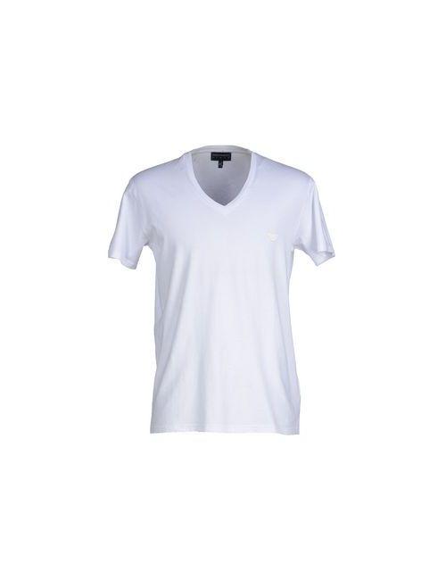 Emporio Armani | Мужская Белая Футболка
