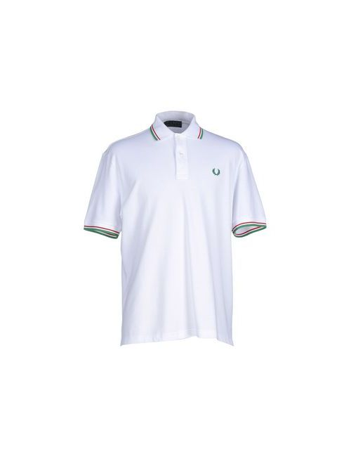 Fred Perry | Мужское Белое Поло