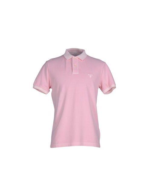 Gant | Мужское Розовое Поло