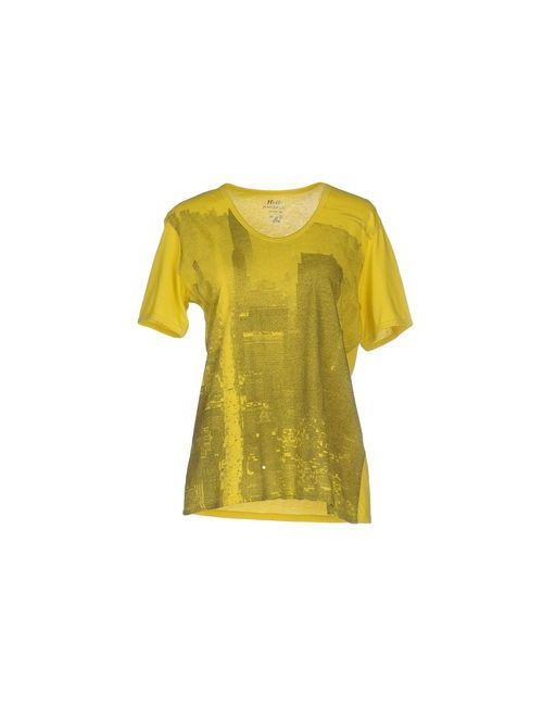 Pagano | Женская Жёлтая Футболка