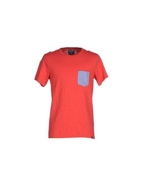 Woolrich | Мужская Красная Футболка
