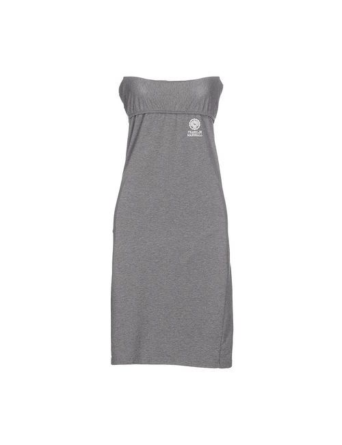 Franklin & Marshall | Женское Серое Короткое Платье