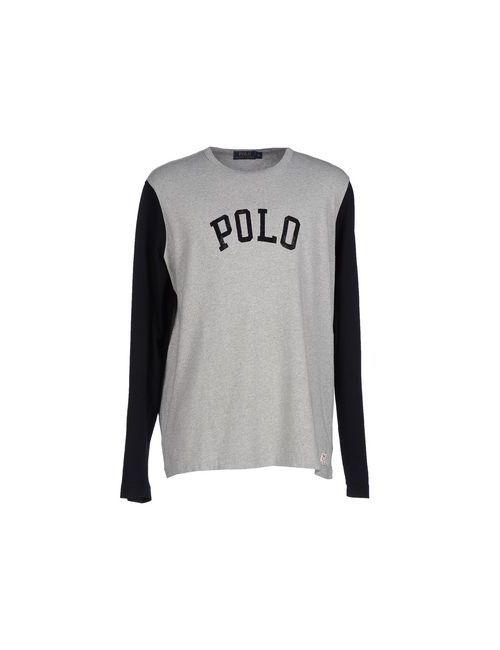 Polo Ralph Lauren | Мужская Серая Футболка