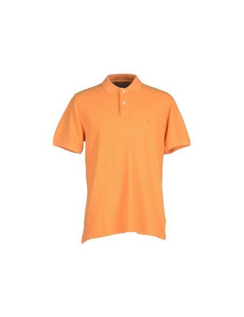 Tommy Hilfiger | Мужское Оранжевое Поло