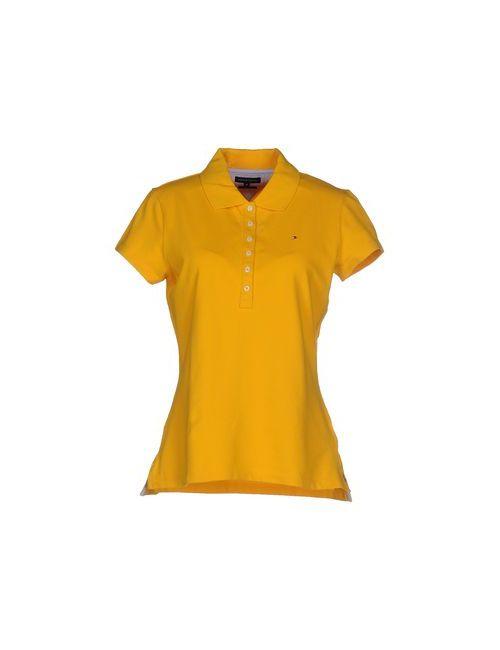 Tommy Hilfiger | Женское Жёлтое Поло