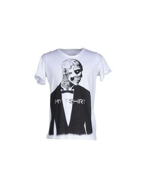 My T-Shirt | Мужская Белая Футболка