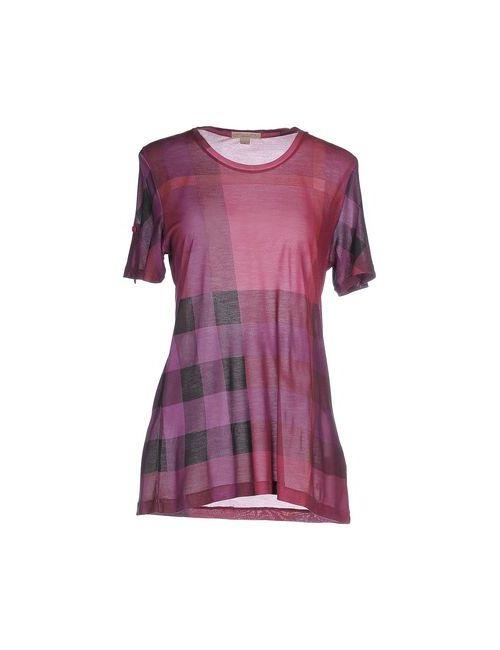 Burberry Brit | Женская Фиолетовая Футболка