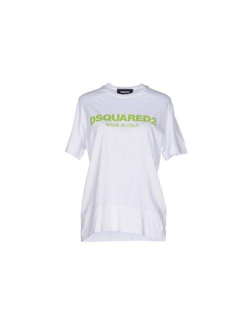 Dsquared2 | Женская Белая Футболка