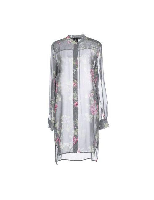 Mcq Alexander Mcqueen | Женское Зелёное Короткое Платье