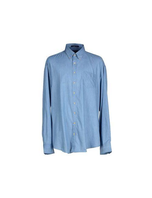 Gant | Мужская Голуба Джинсовая Рубашка
