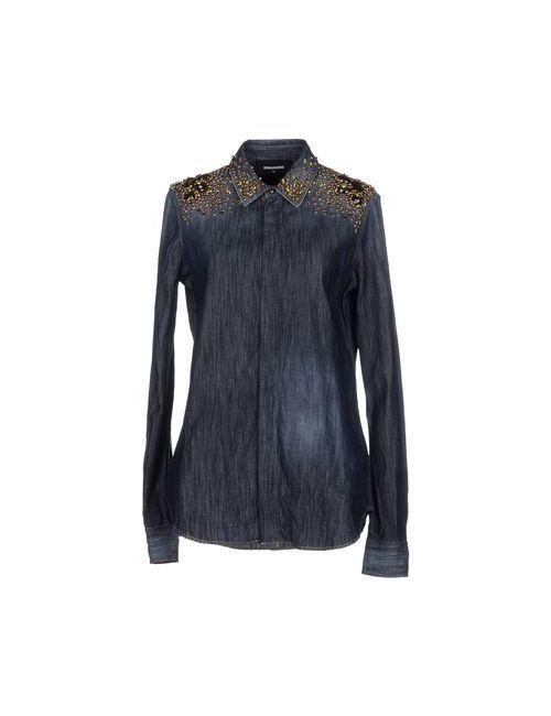 Dsquared2 | Женская Синяя Джинсовая Рубашка