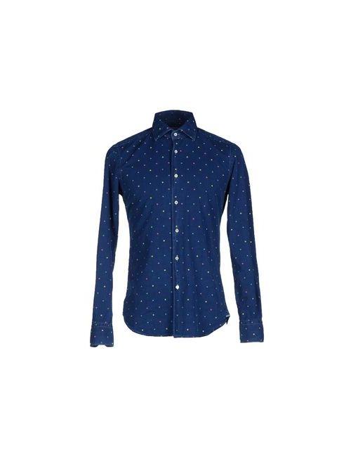 Xacus | Мужская Синяя Джинсовая Рубашка