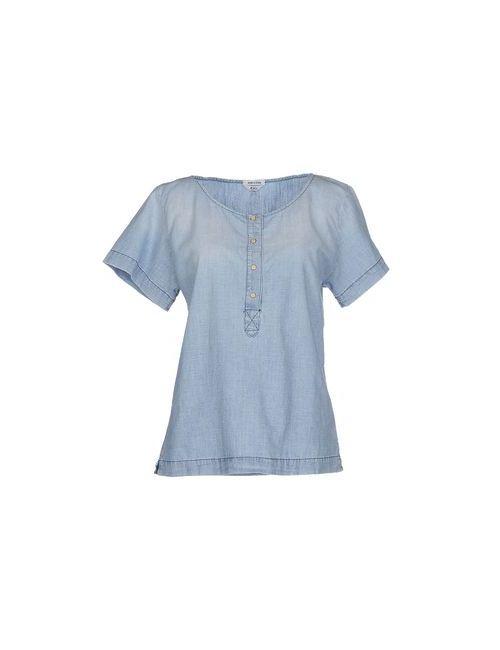 Cycle | Женская Синяя Джинсовая Рубашка