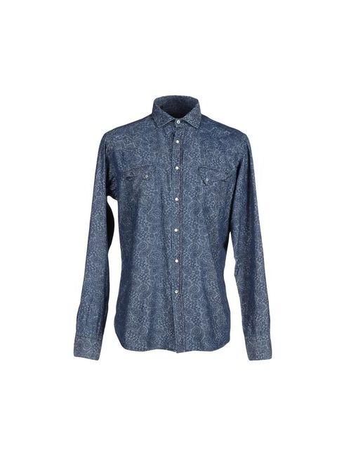Liberty Rose | Мужская Синяя Джинсовая Рубашка