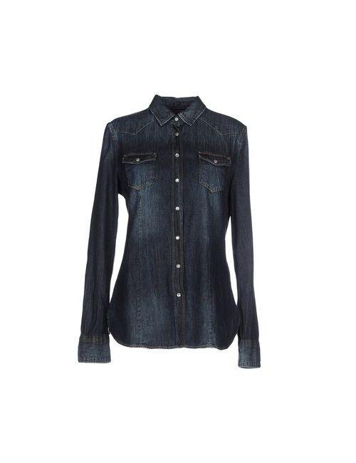 Replay | Женская Синяя Джинсовая Рубашка