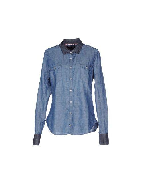 Tommy Hilfiger | Женская Синяя Джинсовая Рубашка