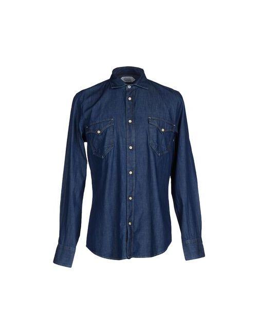 Cycle | Мужская Синяя Джинсовая Рубашка