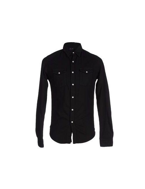 Edwin | Мужская Чёрная Джинсовая Рубашка