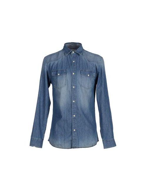 Selected Homme | Мужская Синяя Джинсовая Рубашка