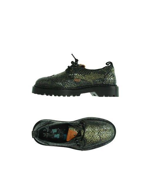 Dolfie | Женская Зелёная Обувь На Шнурках