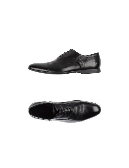 PS PAUL SMITH | Мужская Чёрная Обувь На Шнурках