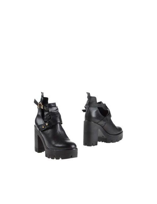 Camilla | Женские Чёрные Полусапоги И Высокие Ботинки