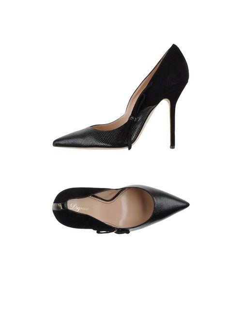 Dsquared2 | Женские Чёрные Туфли
