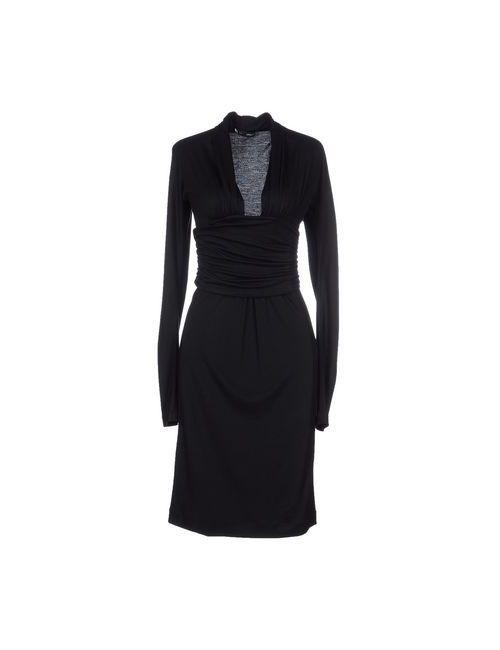 Dsquared2 | Мужское Чёрное Платье До Колена