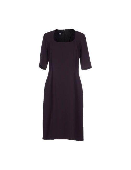 Ter De Caractère | Женское Фиолетовое Платье До Колена