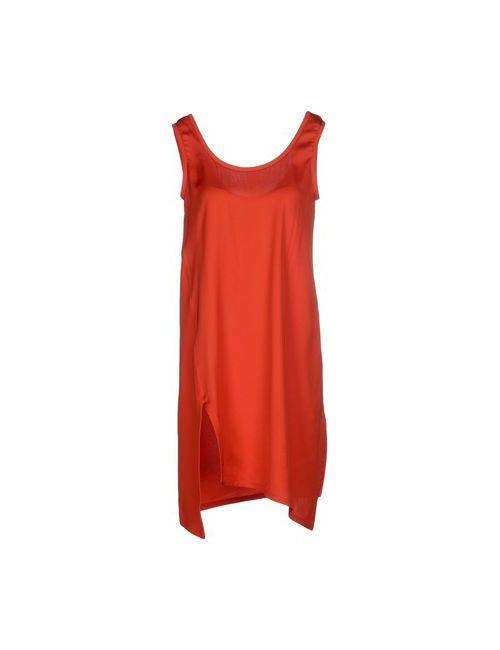 Jil Sander Navy   Женское Красное Короткое Платье