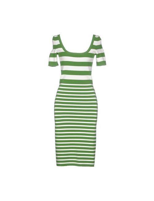Michael Kors   Женское Зелёное Платье До Колена