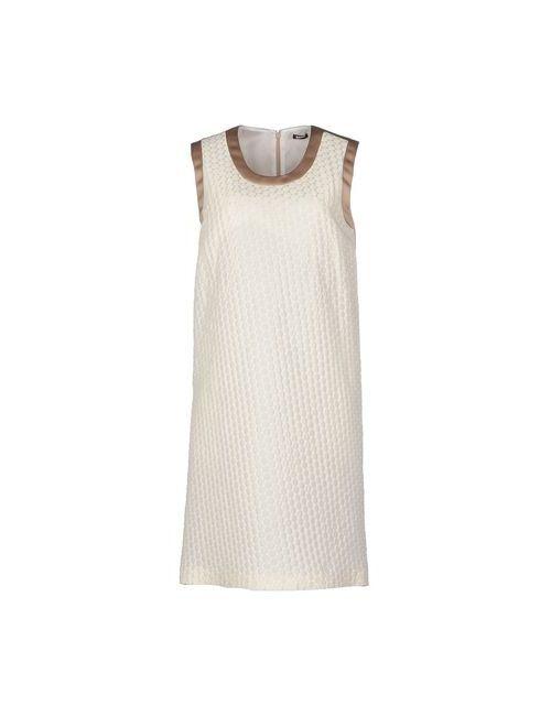 Jil Sander Navy | Женское Слоновая Костящее Короткое Платье