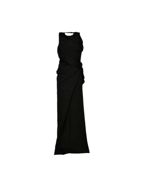 Dsquared2   Женское Чёрное Длинное Платье