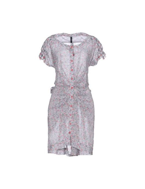 High | Женское Серое Короткое Платье