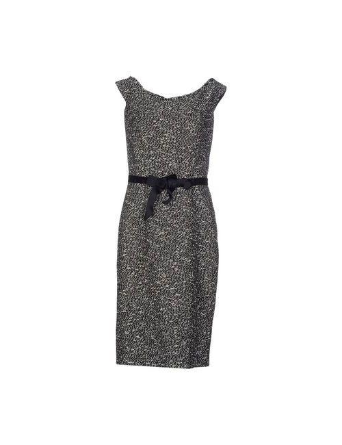Dior | Женское Черный Платье До Колена