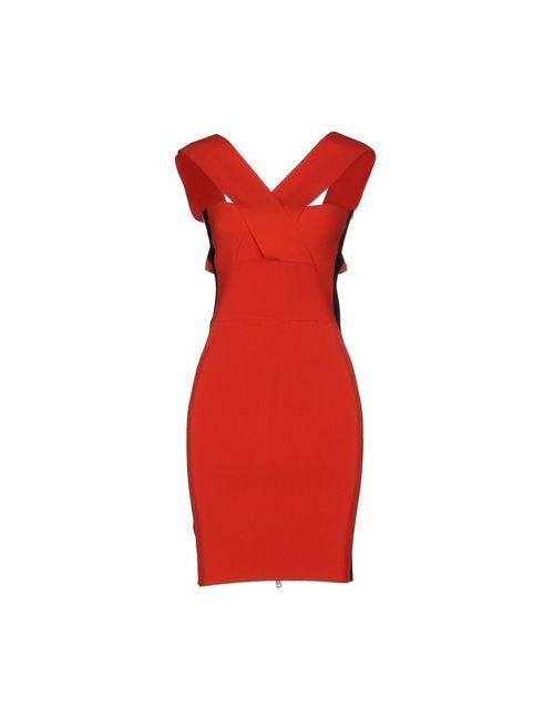 Mcq Alexander Mcqueen | Женское Оранжевое Короткое Платье