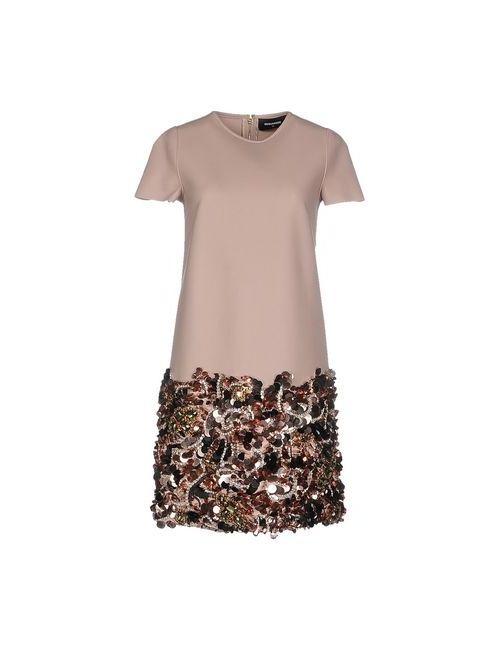 Dsquared2 | Женское Коричневое Короткое Платье