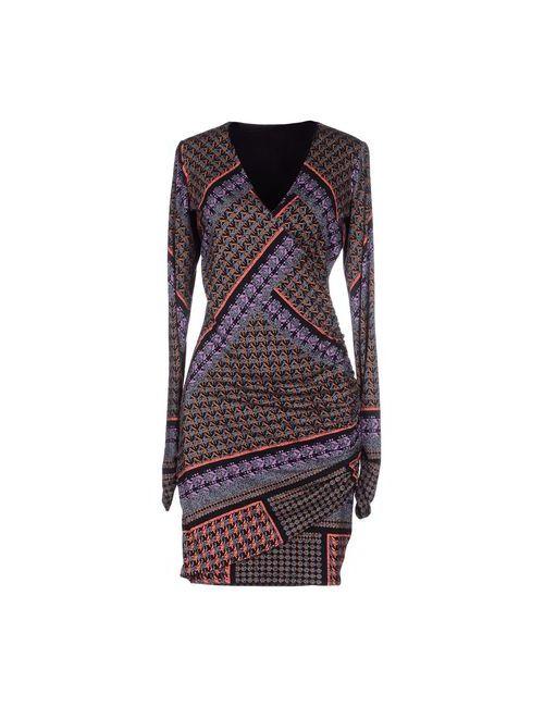 Hale Bob | Женское Серое Короткое Платье