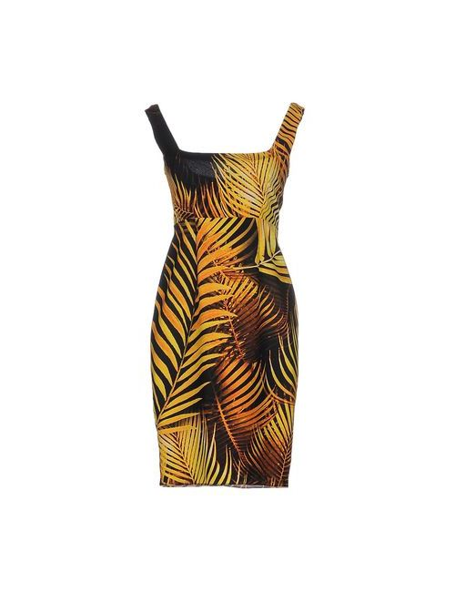 Marco Bologna | Женское Жёлтое Короткое Платье