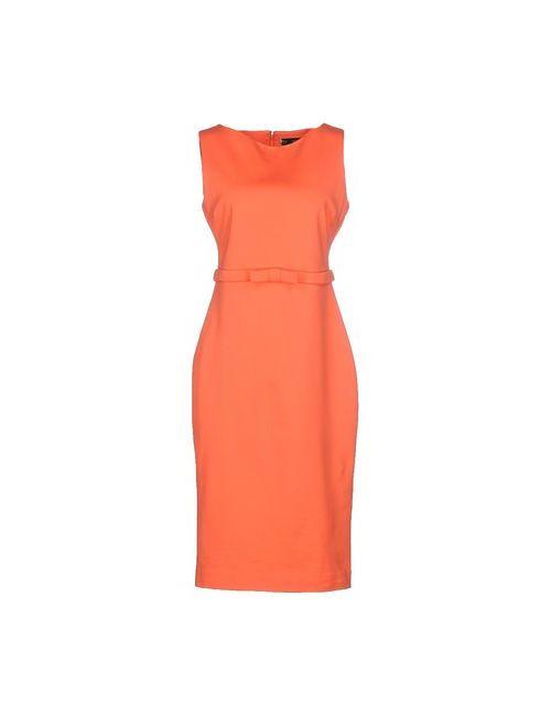 Dsquared2 | Женское Оранжевое Платье До Колена