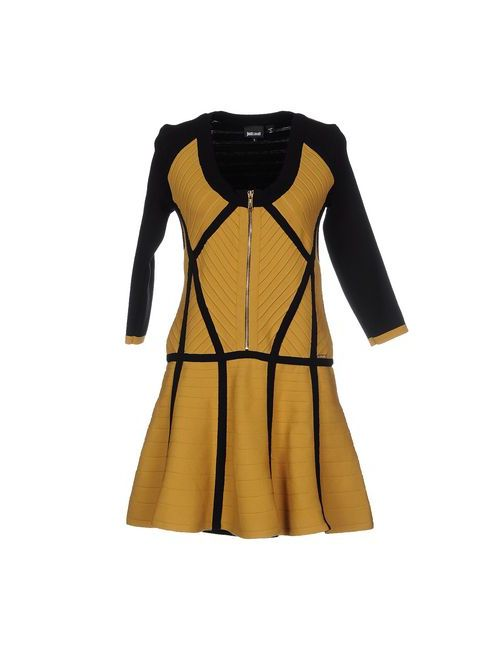 Just Cavalli | Женское Хаки Короткое Платье