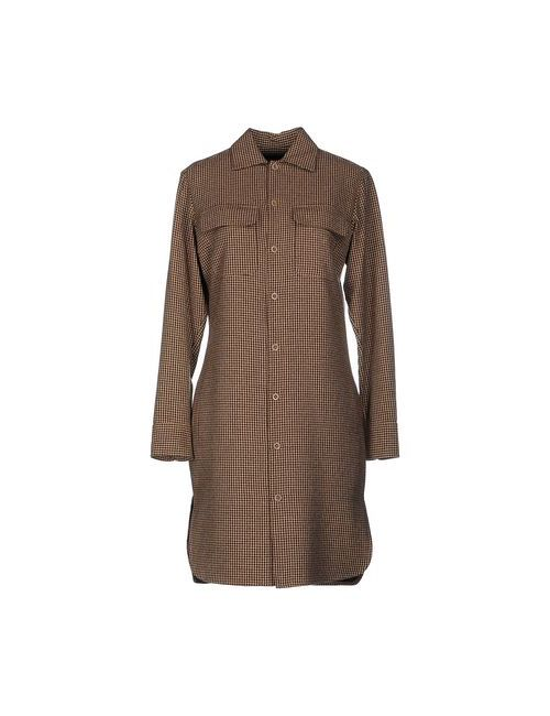 Ralph Lauren | Женское Бежевое Короткое Платье
